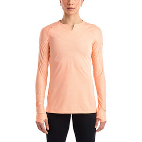 saucony Breakthru Long Sleeve Shirt Women, peach nectar